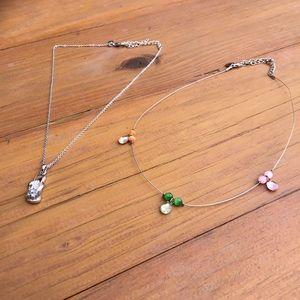 Girls Lia Sophia necklace bundle 🌸